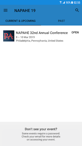 Screenshot for NAPAHE 2019 Annual Conference in United States Play Store