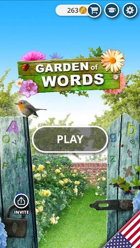 Garden of Words - Word game apktreat screenshots 1
