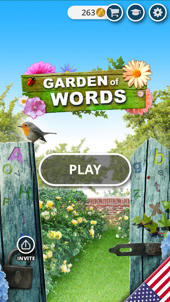 Garden of Words - Word game Android App Screenshot