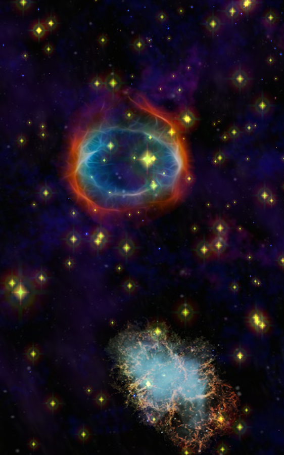 Interstellar Flights in Cosmos- screenshot