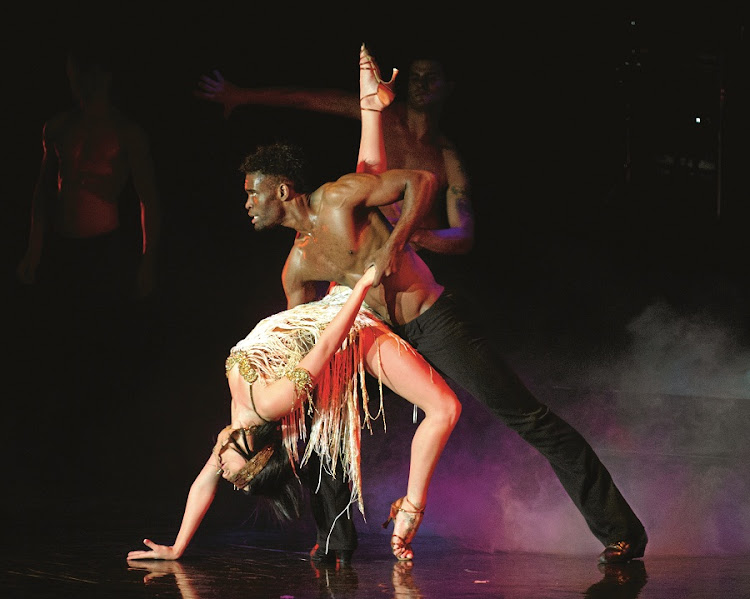 Burn the floor. Hit musical coming to Pretoria. Picture: SUPPLIED