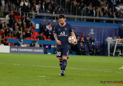 """Kylian Mbappe a laissé son penalty """"par respect"""" à Lionel Messi"""