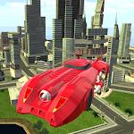 Batmobile Copter Icon