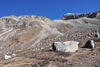 Photo: Entre Lhonak et Pangpema