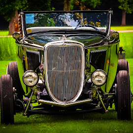 Road to Hope - Ford Mobil Coupe by Ron Meyers - Transportation Automobiles