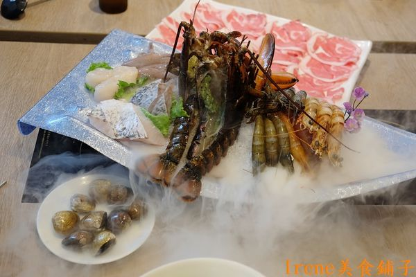 【肉老大頂級肉品涮涮鍋-中和店】超澎湃的龍宮宴 ~活跳跳龍蝦上桌啦(中和美食)