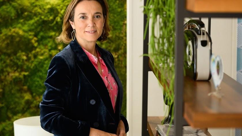 Cuca Gamarra, exalcaldesa de Logroño y portavoz del PP en el Congreso, posa para el fotógrafo Juan Sánchez