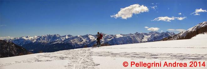 Photo: Panorama 16 Riccardo e il Brenta sul pianoro 2142