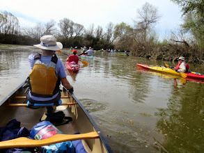 Photo: The group in the Cosumnes River