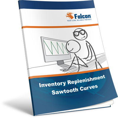 Inventory-Replenishment-Sawtooth-Curves