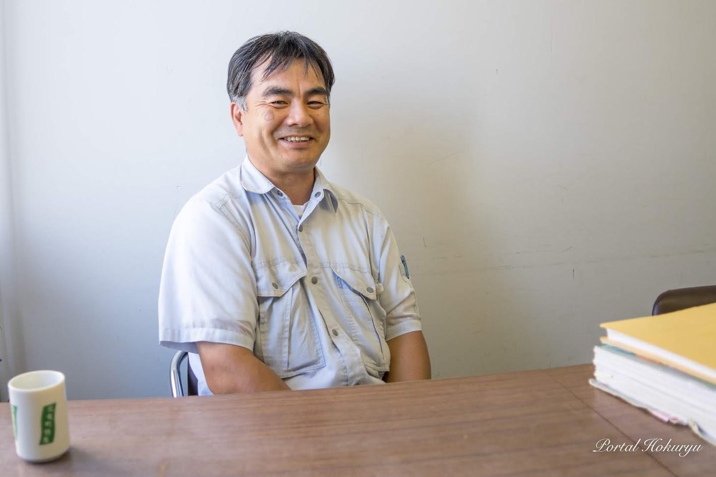 北竜町役場建設課・川田昌宏 技術長