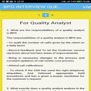 bpo interview questions guide screenshot thumbnail - Quality Analyst Interview Questions And Answers
