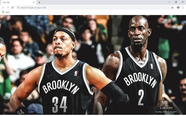 Brooklyn Nets NBA New Tab