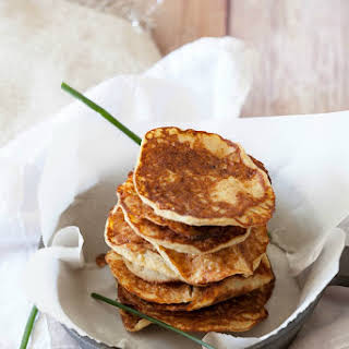 Low Calorie Blender Potato Pancakes.