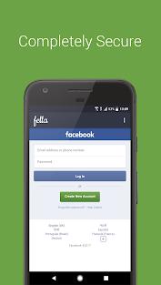 Aplikacje Fella for Facebook dla Androida screenshot