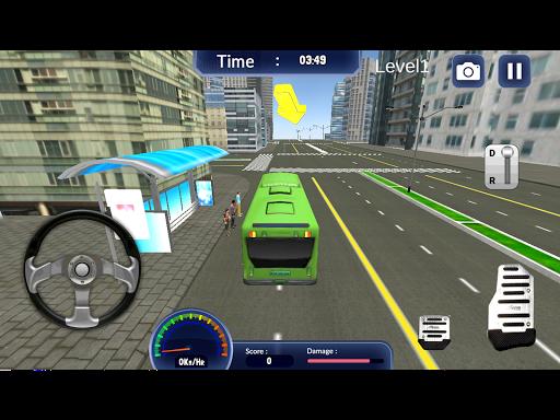公交车驾驶模拟器的3D