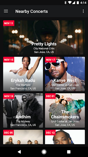 Spoticon - Concert for Spotify 1.0.3 screenshots 2