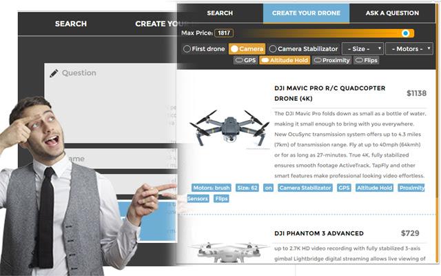 Drones Buyer Tool