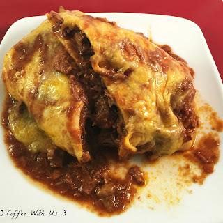 Chile Colorado Burrito