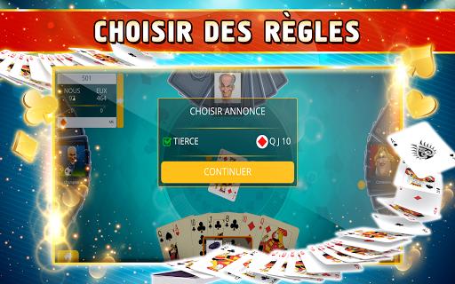 Belote Offline - Single Player Card Game screenshots 13