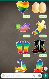 Gay Stickers - WAStickerApps Screenshot