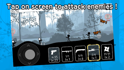 Stickman Striker 4.0.3 screenshots 1
