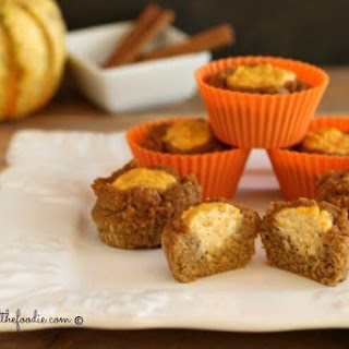Sour Cream Pumpkin Butter Muffins