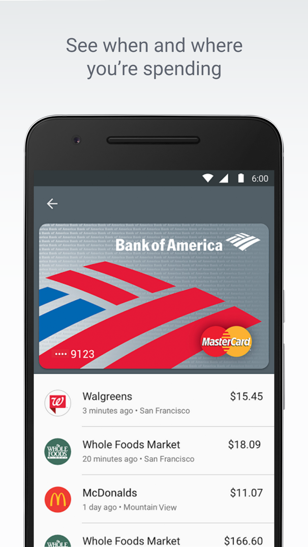 Android Pay screenshot #4