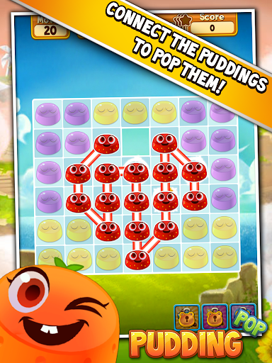 Pudding Pop - Connect & Splash Free Match 3 Game - screenshot