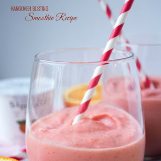 Hangover Busting Smoothie.