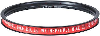 "We The People Logic 20"" Welded Rim 36h Black alternate image 1"