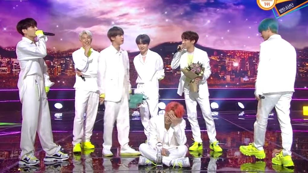 "BTS win with ""Boy with Luv"""