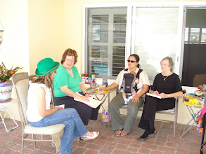 Photo: First Committee Meeting at Donna's House