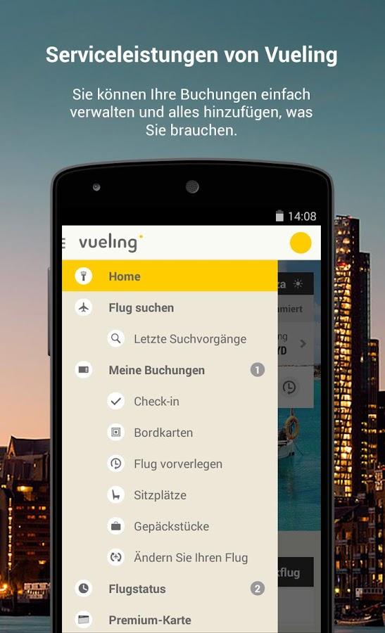 Vueling - Billigflüge - screenshot