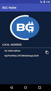 Bitago Wallet - náhled