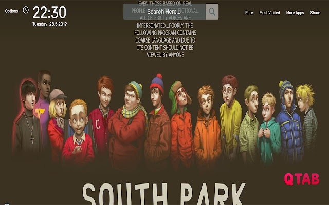 South Park Wallpapers HD Theme