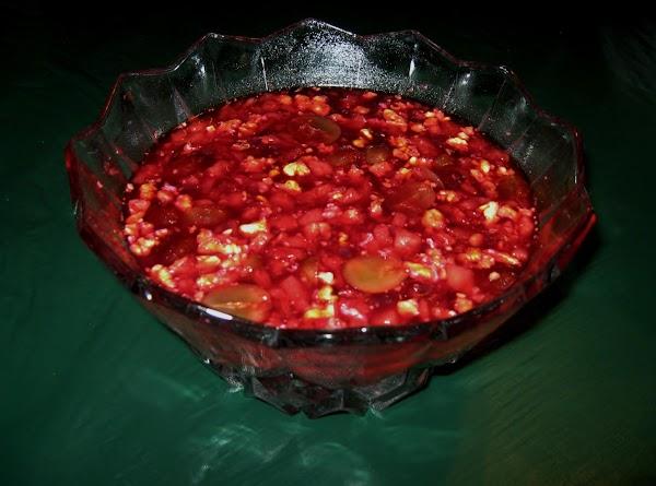 Grandma's Cranberry Salad Recipe