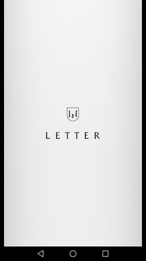 LETTER for smartphone 2.5.0 Windows u7528 1