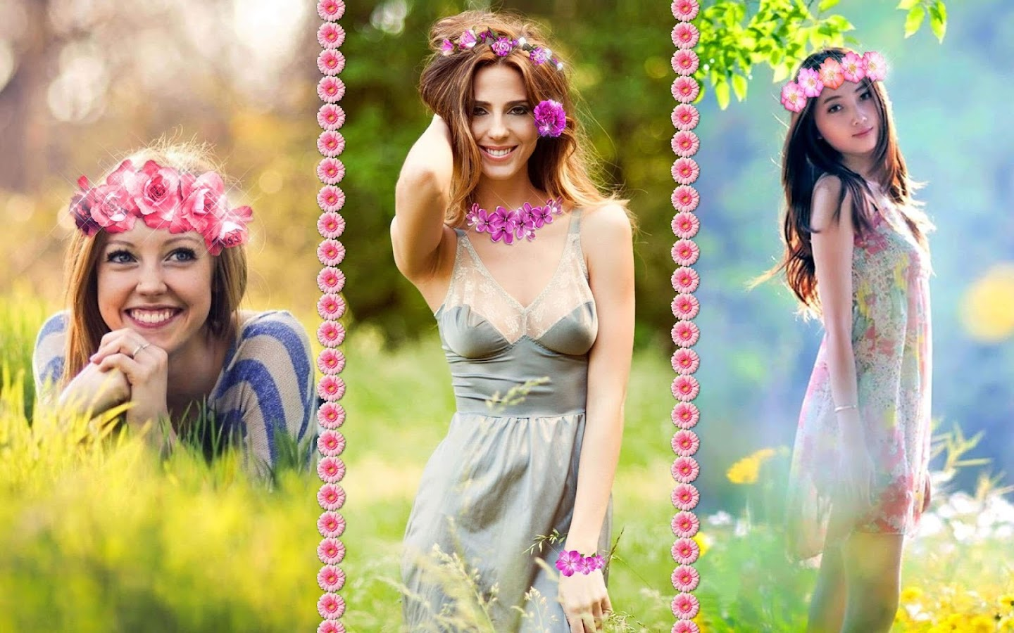 Flower Crown Online Editor Image Collections Wallpaper Hd Photo With