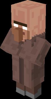 Minecraft Zombie Villager Skin Llll