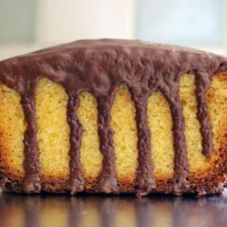 Gluten Free Chocolate Orange Drizzle Cake.