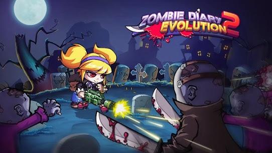 zombie diary 2 evolution mod apk (unlimited money) 5