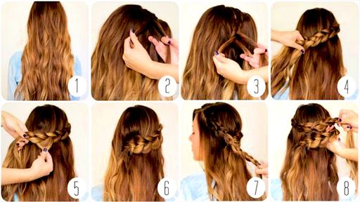 Easy Hair Style Tutorial 1.0.1 screenshots 2