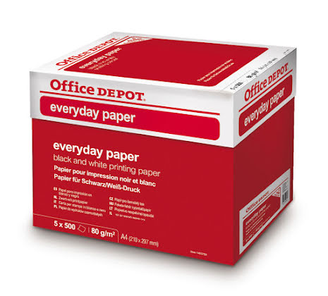 Papper Everyday 80g A4 2500/kt