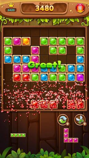 Jewel Block Puzzle - Jewel Games Free screenshots 2