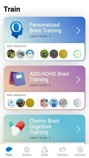 CogniFit Brain Fitness 4.1.3 screenshots 4