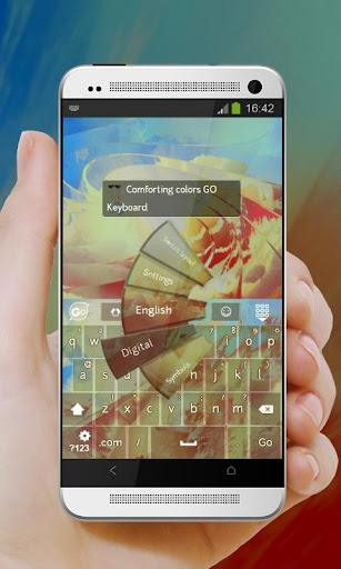 無料个人化Appのフォー色 GO Keyboard 記事Game