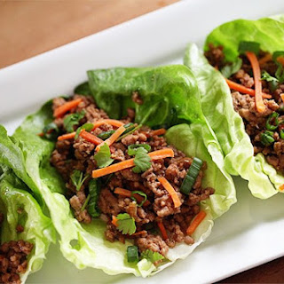Asian Pork Lettuce Wraps.