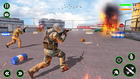 Gun Shooting Strike: Commando Games 6