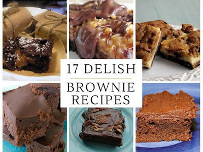 17 Delicious Brownie Recipes You Need to Make